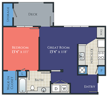 1 bedroom lindenwald floorplan at avemore apartments in charlottesville va