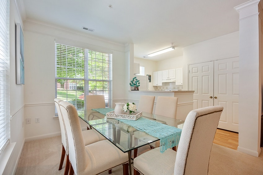 Avemore Apartments Model Dinning Room